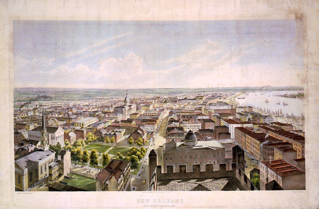 New Orleans in 1852