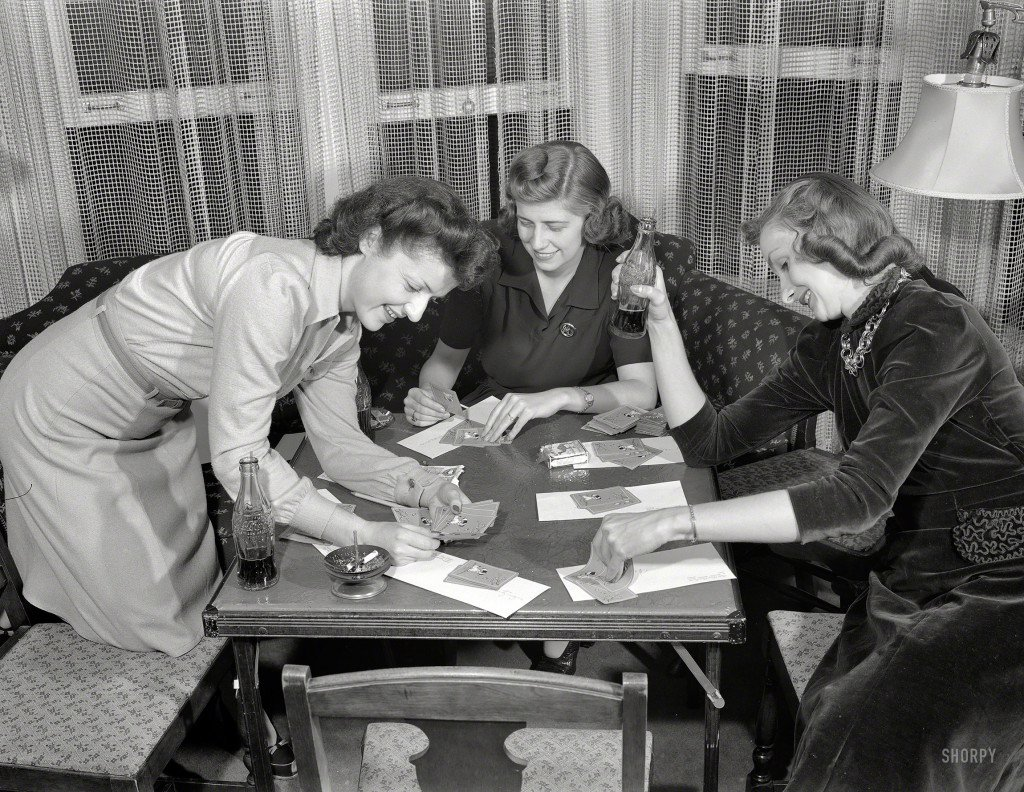 Photos Of 1941 Ladies Strip Poker In Detroit  Cool Old -7997