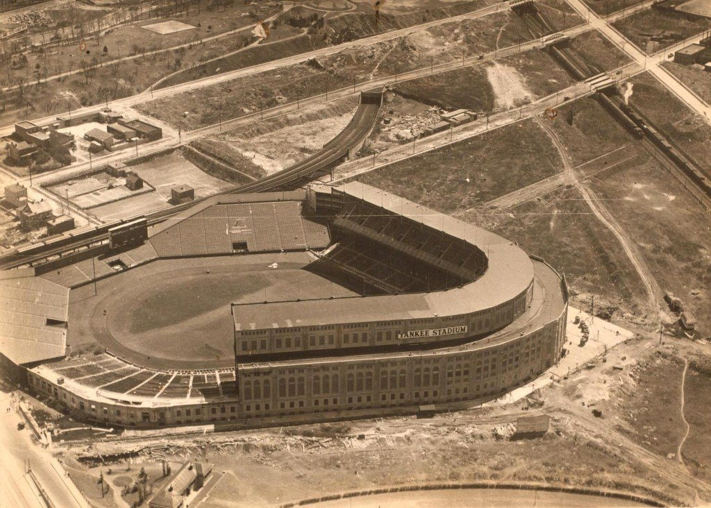 Aerial View Of Yankee Stadium In 1923 Cool Old Photos