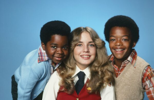 DIFF'RENT STROKES -- Season 2 -- Pictured: (l-r) Gary Coleman as Arnold Jackson, Dana Plato as Kimberly Drummond, Todd Bridges as Willis Jackson (Photo by Herb Ball/NBC/NBCU Photo Bank via Getty Images)