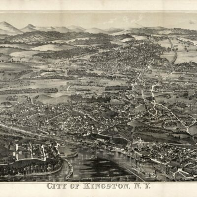 View of Kingston in 1870s