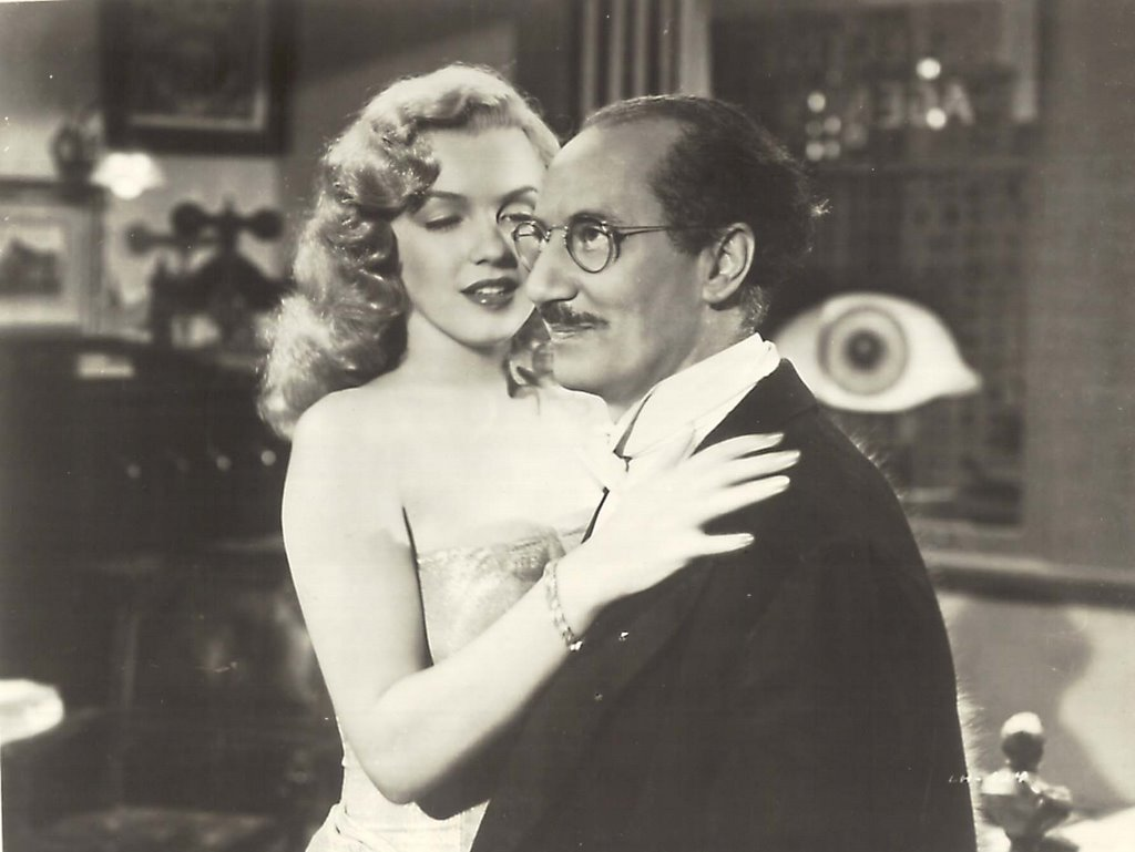 Marilyn Monroe & Groucho Marx