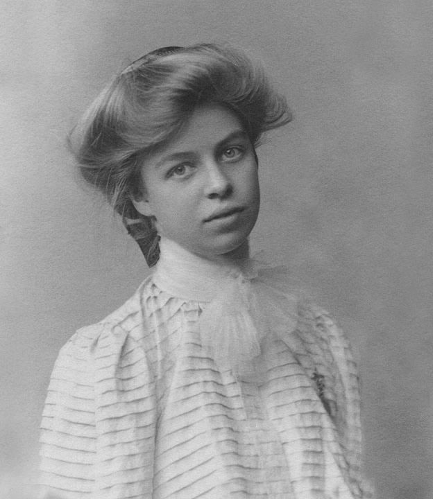 Eleanor Roosevelt as a teenager