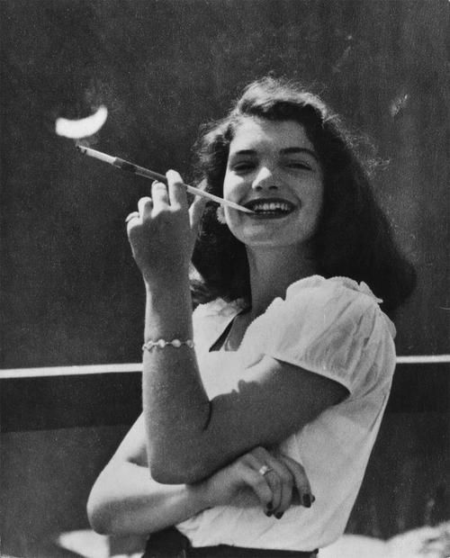 Jackie Kennedy as a teenager
